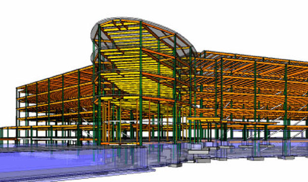 Steel Detailers Moves from 2D CAD to 3D BIM