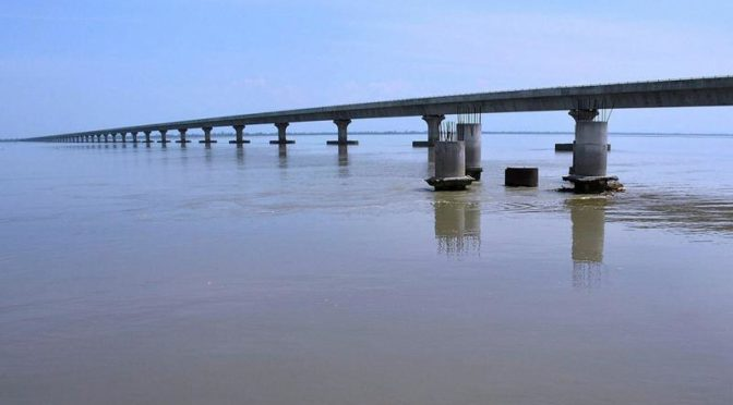 India Trusts SAIL for its longest Bridge