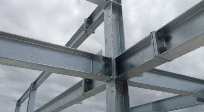 How are the steel Beam –Column connections designed?